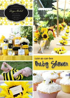 Cute as can BEE baby shower