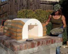 The Lyford Family Wood Fired Brick Pizza Oven in California BrickWoodOvens.com