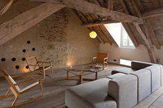 Chambre d'hôtes La Maison Du Templier à Charroux - Allier , Chambre d'hôtes 4 épis Allier