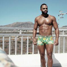 Fitness model black men hot metis