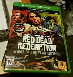 awesome RED DEAD REDEMPTION GAME OF THE YEAR XBOX 360 AND XBOX ONE FACTORY SEALED NEW   Check more at http://harmonisproduction.com/red-dead-redemption-game-of-the-year-xbox-360-and-xbox-one-factory-sealed-new/