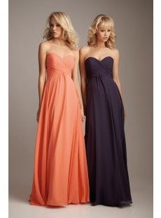 Bridemaid dress style - long dresses, i like it :)