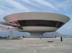 Niteroi Contemporary Art Museum Modern Building