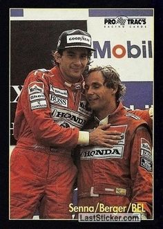 I tried to find weaknesses in Senna, but I couldnt. He is 100 per cent in everything. I learned a lot from him, so for me it was a good three years. And I still like Senna. We had good fun, a good relationship. Formula 1, Sport Cars, Race Cars, Gerhard Berger, F1 Drivers, F1 Racing, Indy Cars, Car And Driver, F 1