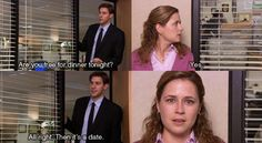 And when the time is right, muster up enough courage to take action. | 21 Truths Jim And Pam Taught You About Love