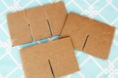 drawer dividers: cut them out of cardboard, and cover them with scrapbook paper to make them pretty :) IHeart Organizing