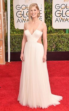 2015 Golden Globes Arrivals: See Rosamund Pike, Giuliana Rancic and More Stars on the Red Carpet | E! Online Mobile