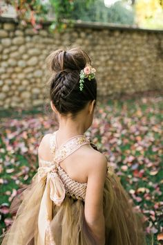 Little Guests | Flower Girl Hairstyles Inspiration