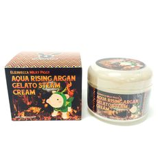 Elizavecca Aqua Rising Argan Gelato Steam Cream 100g #Elizavecca