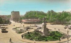 Leon, fotos antiguas, clorieta de Guzman.
