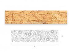 деревянная фактура резная F-009