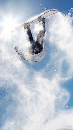 #snowboarding #snowboard #snowboarder http://mobile.wallpapersus.com/sports-snowboarding/