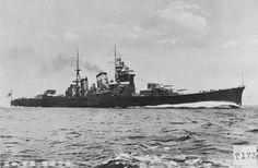Japanese heavy cruiser HIJMS NACHI