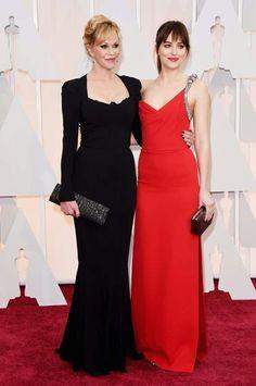 Melanie Grifith & Dakota Jhonson ~ #Oscars2015