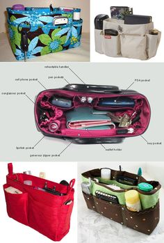 Nice collection of purse organizers