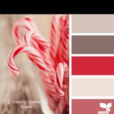 candy cane hues