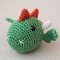Turtlekeeper Designs : The DRAGON: Chinese Zodiac Animals free pattern, Chinese Zodiac Dragon, Chinese New Year Zodiac, Chinese New Year Dragon, Crochet For Kids, Crochet Toys, Free Crochet, Crochet Dragon, Dragon Pattern, Cute Dragons