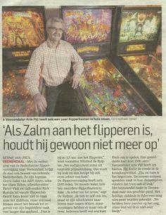 'Als Zalm aan het flipperen is, houdt hij gewoon niet meer op' Painting, Painting Art, Paintings, Paint, Draw