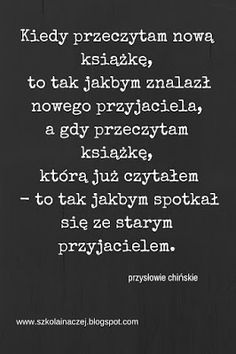 szkoła inaczej - widziane oczami nauczyciela... I Love Books, Books To Read, Book Memes, Note To Self, Bookstagram, Proverbs, Book Lovers, Quote Of The Day, Philosophy