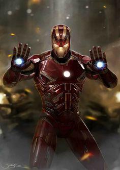 Iron Man - GoTG Armor Model 45