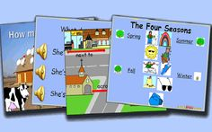 This site has many ppts that you can use to teach ELD.