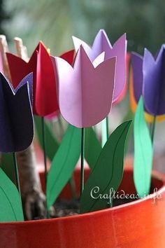 Paper Tulips 3