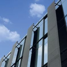 metal wire mesh solar shading SOLUCENT™ Cambridge Architectural