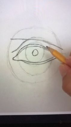 Have you ever wanted to learn how to draw a human eye, nose, & mouth? Not just the basic way we were taught growing up, but facial features that look REAL! With 4 years of high school teaching experi Nose Drawing, Realistic Eye Drawing, Basic Drawing, Drawing Skills, Step By Step Drawing, Drawing Tips, Drawing Sketches, Figure Drawing, Eye Drawing Tutorials