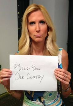 Sex nude having ann coulter