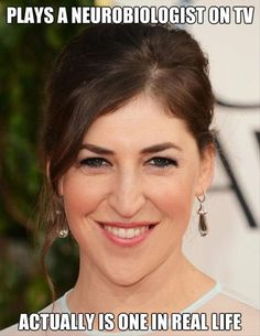 Mayim is very pretty in an exotic sort of way. Not the California-girl-next-door way like Kaley Cuoco. Mayim's look is nuanced and you can see her intelligence in her eyes. She will grow older much more gracefully.