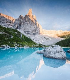 Beautiful Mountain Landscape Photography by Marco Bäni #inspiration #photography