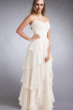 Robe de soiree blanche pour mariage