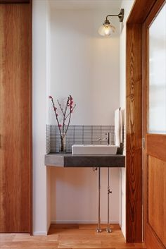 リフォーム・リノベーションの事例|手洗い Bathroom Design Small, Laundry Room Design, Dining Room Design, Home Bedroom, Home Living Room, Home Building Design, House Design, Amish Furniture, Japanese Interior