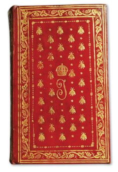 Joséphine's books from Malmaison Given little early schooling, Joséphine could barely read until she was a young adult. After learning, she developed a passion for books. The library at Malmaison covered a broad range of topics, showing the Imperial couple's interests and intellect. With her prayer book, bound in red Morocco leather, is a volume from Delandine's New Historical Dictionary 1804, evidencing the love of history she shared with her husband.