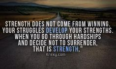 strength does not