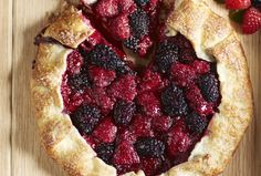 Raspberry and Blackberry Crostata - Looking for a dessert recipe that is simple yet elegant? If so, this crostata is the perfect solution. It is easy to make and undoubtedly makes a statement as a dessert for any type of occasion.