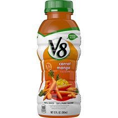 V8 Veggie Blend Carrot Mango, 12 Ounce (Pack of 12) *** Review more details @ http://www.amazon.com/gp/product/B00S0AOF8A/?tag=lizloveshoes-20&pwx=230716041435