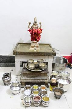 Hindu Temple, Nara, Table Settings, God, Dios, Table Top Decorations, Place Settings, Dinner Table Settings, The Lord