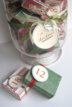 homemade advent calendars (or tiny gifts for other occasions)