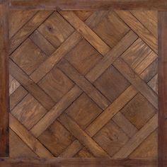 Antique French Oak Flooring: Versailles Pattern