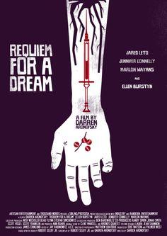 Requiem for a Dream - reimagined movie poster