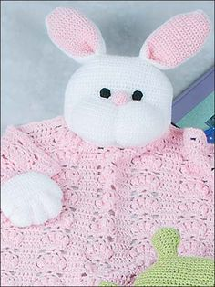 Mesmerizing Crochet an Amigurumi Rabbit Ideas. Lovely Crochet an Amigurumi Rabbit Ideas. Love Crochet, Crochet Gifts, Crochet For Kids, Crochet Toys, Crocheted Animals, Crochet Blanket Patterns, Baby Blanket Crochet, Crochet Baby, Crochet Geek
