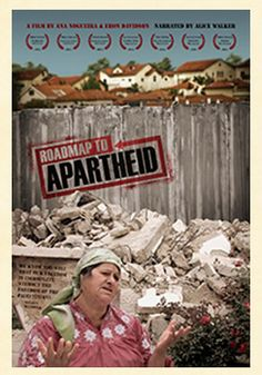 Watch- A Roadmap to Apartheid-With a comparison between apartheid South Africa and the Israel/Palestine conflict, this doc traces the future of one conflict from the past of another. Weaving the history of apartheid into the complex issues facing Israelis and Palestinians, it highlights the frighteningly similar laws and tools used by Israel and apartheid-era South Africa. It's a dark picture of the present but offers hope based on the peace that South Africa eventually found. #Palestine…
