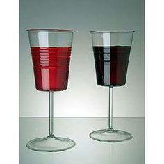 "Ooooohhh Weeee - ""Redneck"" Wine Glasses. ha.  Perfect for your classy box o' wine! Drink up :)  urlybits.com"