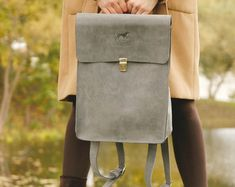 READY TO SHIP Leather backpack Leather rucksack Backpack by DingoM
