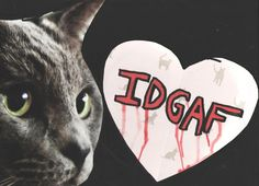 IDGAF Valentine by TheEscapistArtist on Etsy, $7.00