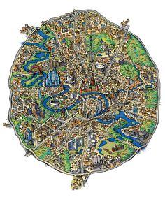 Google карта москвы