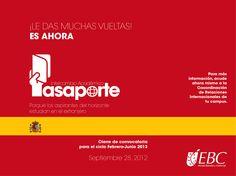 Vete de intercambio, la Universidad de Alcalá y cuatro instituciones más en España preguntan por ti. ¡Apúntate!
