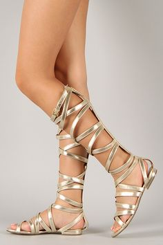 HELEN OF TROY SANDALS GOLD