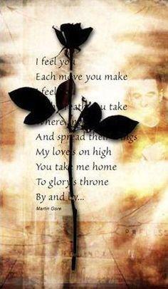 Depeche Mode...I Feel You